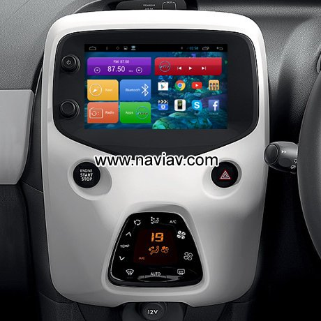 android auto peugeot 108. Black Bedroom Furniture Sets. Home Design Ideas