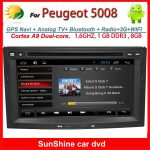 Android auto peugeot 5008