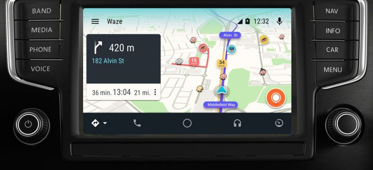 Android auto waze not working
