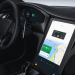 Android auto vertical
