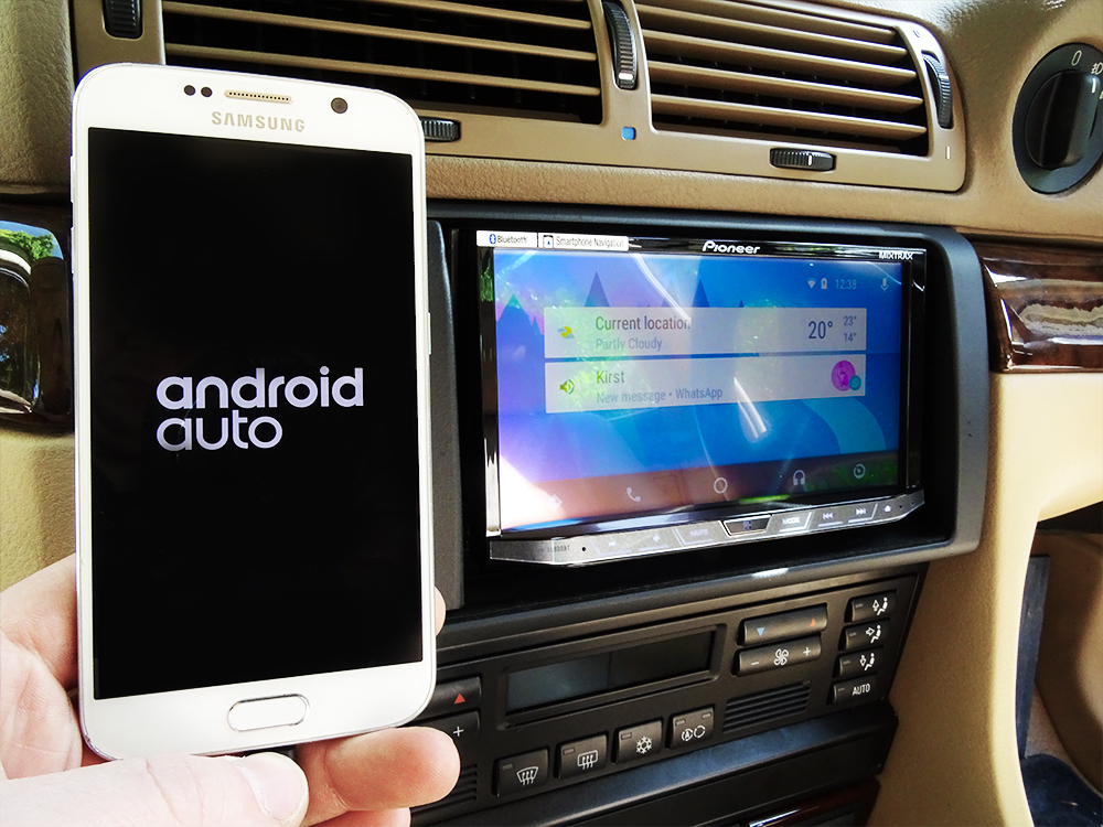 android auto bmw. Black Bedroom Furniture Sets. Home Design Ideas