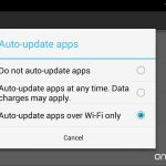 Android auto update apps