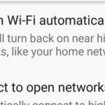 Android auto join wifi